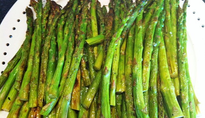 Grilled Asparagus - Healthy Zen