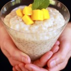 Coconut and Tapioca Pudding - Healthy Zen