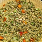 Israeli Cous Cous with Homemade Pesto_healthy zen
