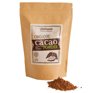 Organic Cacao Powder package