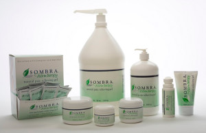 The Sombra Warm Therapy set of gels in different kinds of packages